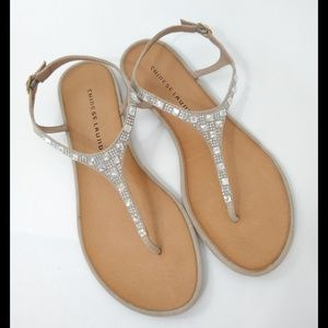 Chinese Laundry Jewelled Sandals Size 8